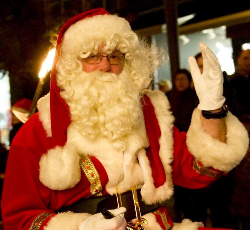 De kerstman komt naar Joure!