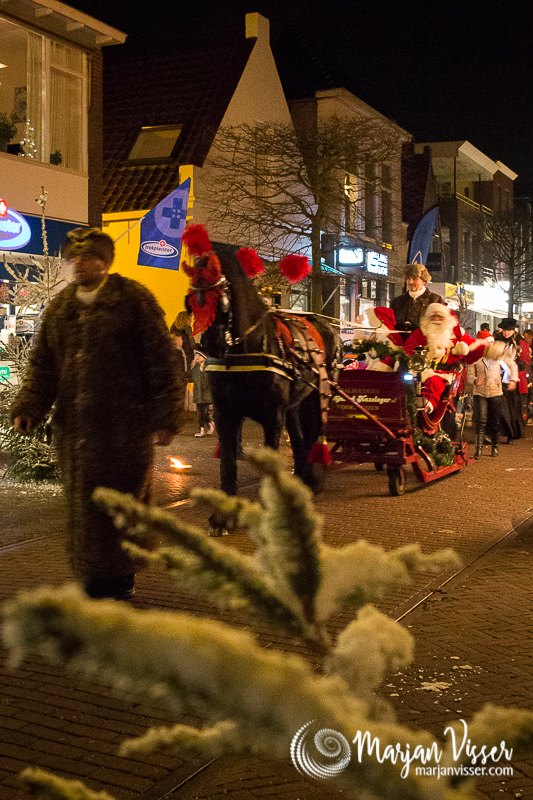 Fakkeltocht Joure - 15 december 2017 (Fotografie:  Marjan Visser)