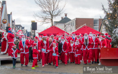 Fotoreportage Santa Run Joure 2019